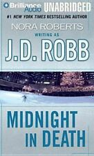 MIDNIGHT IN DEATH Audiobook By J.D. Robb aka Nora Roberts ( Eve Dallas Series )