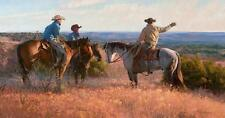 Bruce Greene Cowboy Choreography Fine Art Giclee on Canvas Signed and Numbered