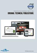 VOLVO 740, 760, 780 Modèles - 1982 To original 1992 Publications Techniques