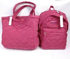 Marc Jacobs Nylon Quilted Backpack Begonia Pink Bag M0011321 658