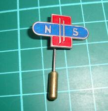 NS Nederlandse Spoorwegen stick pin badge 60's dutch railways trein speldje