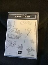 """Stampin' Up ~ """"Serene Garden"""" ~ Used Once"""