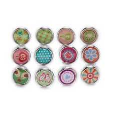 10Pcs Brads Mixed Round Fastener Metal Scrapbooking Embellishment Handmade