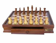 Dal Rossi Italy L2209DR Wooden Chess Set