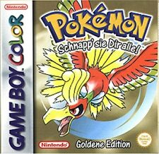 Pokémon: Goldene Edition (Nintendo Game Boy Color, 2001)