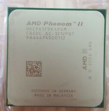 AMD Phenom II x4 965 Black Edition - 3,4 GHz Quad-Core (hdz965fbk4dgi) processeur
