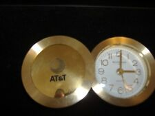 Wittnauer At&T Brass Alarm Clock Refurbish Made In Germany