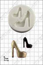 Silicone mould Fashion Shoe (4) | Food Use FPC Sugarcraft FREE UK shipping!