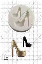 Silicona Molde Moda Zapato (4) | uso alimentario FPC Sugarcraft Envío Reino Unido!