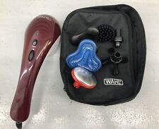 WAHL Electric Hot Cold Therapy Custom Body Therapeutic Massager 6 Attachments