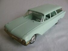 Vintage Hubley 1961 Ford Country Squire Station Wagon Dealer Promo Model Car