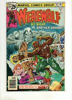 Werewolf by Night #39 RARE Brother VooDoo Appearance! 1976 Dr. Strange Buckler