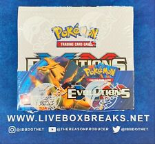 Pokemon Evolutions XY Factory Sealed Unopened Booster Box 36 Packs Charizard