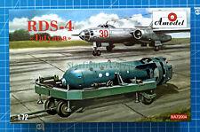 """1/72 RDS-4 """"Tatyana"""" Soviet atomic bomb (Amodel NA72004)"""