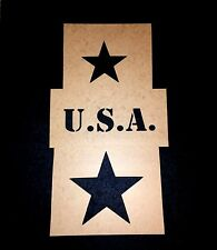 WWII MILITARY VEHICLE STAR STENCIL SET - WILLYS JEEP MB GPW - US ARMY