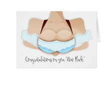 Senos, la cirugía de mama Teta trabajo, tarjeta de trabajo-Diversión Boob con un bonito Rack