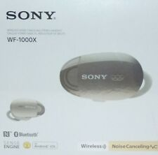Sony WF 1000X True Wireless In-Ear Noise Canceling Headphones – Champagne NEW