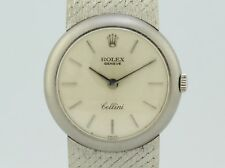 Rolex Cellini Manual Winding White Gold Lady