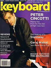 2005 Peter Cincotti, Roland G-70 & KORG KONTROL49 Reviews, Keyboard Magazine