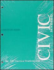 2003 Honda Civic Hybrid Electrical Wiring Manual