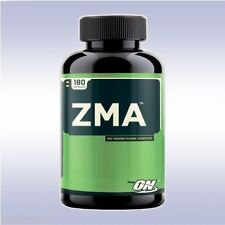 OPTIMUM NUTRITION ZMA (180 CAPSULES) recovery zinc magnesium b6 vitamins on