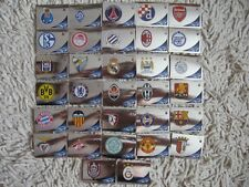 PANINI STICKERS  champions league 2012/ 2013  badge  COMPLETE SET  32 wappen