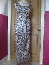 HARDY AMIES true vintage EVENING DRESS size UK 8 10 gatsby downton retro wedding
