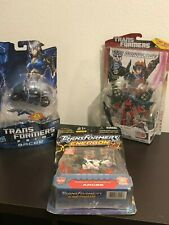 Transformers Prime - First Edition & Energon Arcee (MOSC) Generations Windblade