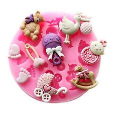 3D Seife Babyspielzeug Silikon Mold DIY Backen Ausstecher Kuchen Keks Fondant
