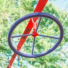 Annneau de ninja d'escalade - Slackers -  anneau en acier bleu 35 cm