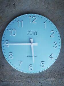 Blue Thomas Kent Clock - 30cm