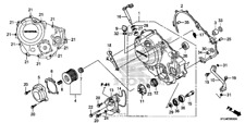 CBR 250 R/RA 2015-2016 Kupplungsdeckel NEU / Clutch Cover NEW original Honda