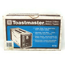 🔴 Vintage Toastmaster Model B710 Chrome Automatic 2-Slice Toaster - SEALED NOS