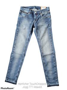 Herrlicher Damen 7/8 Jeans Touch Cropped Jogg 771 relaxed+Größe:26+Neuware+