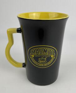 Rare NEW Marmite Tall Black And Yellow Collectors Coffee Mug