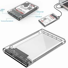 "ORICO 2.5""Transparent 5Gbps USB3.0 to Sata3.0 HDD Case Tool Hard Drive Enclosure"
