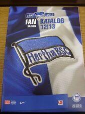 2012/2013 Hertha Berlín: seaosn guía/manual. gracias por ver nuestro artículo, si