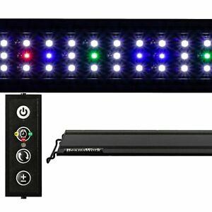 """USED 20"""" Vivio Full Spectrum LED Aquarium Fish Tank Light Dimmer Timer Beamswork"""