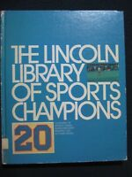 Lincoln Library of Sports Champions Vol. 20 Glossary and Supplemental [1985]