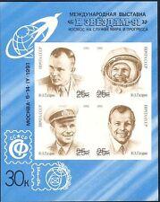 Russia 1991 SPAZIO/GAGARIN lotta/astronauti/Persone/AD ASTRA'91 IMPF M/S (n44415)