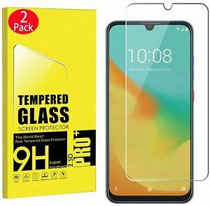 For ZTE Axon 10 Pro,Axon 11 SE 5G,Blade V10,Tempered Glass Screen Protective X2