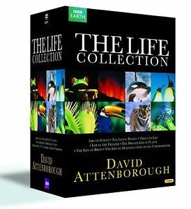 The Life Collection David Attenborough New Region 4 DVD 24xDiscs Box Set