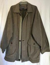 PORSCHE Driver Coat Men's Large Olive Green Jacket