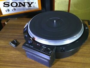 Sony TTS-8000 Turntable Record Player Good condition from japan 【Rank:B】