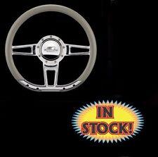 "Billet Specialties D-shaped Formula 14"" Steering Wheel - (Wheel ONLY) - 29409"
