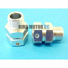 1/5 King Motor Rear Wheel 24mm 1-inch Extended Wheel Hubs (2) HPI Baja 5B Rovan