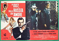 Fotobusta En 007 desde Rusia Con Amor Sean Connery James Bond Spy Cine T100