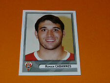 N°119 CABANNES BIARRITZ BO PANINI RUGBY 2007-2008 TOP 14 CHAMPIONNAT FRANCE