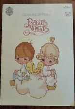 precious moments cross stitch by Gloria and Pat (1980)