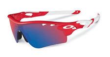 Occhiali da sole da uomo sport rossi marca Oakley
